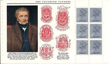 1985 GB QEII DX6 ROYAL MAIL PRESTIGE BOOKLET PANE STORY OF THE TIMES SG X952L