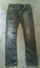 Mens Superdry Vintage Standard Skinny Grey Jeans W34 L34