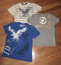 10- Piece Boys/Mens Mixed Lot / Shirts (American Eagle, Polo & More) size Xl & S