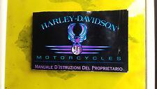 HARLEY DAVIDSON MANUALE ISTRUZIONI 190 PAGINE !!!!!!!!!!