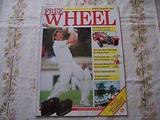 FREE WHEEL SHELL MAGAZINE IAN BOTHAM JAGUAR XK120 1980s 1987