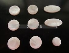 1 set =9 pcs Saxophone real mother of pearl key buttons inlays