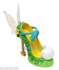 New Disney Parks Tinker Bell Runway Shoe Ornament Christmas Fairies Figure