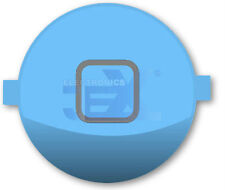 High Quality Gloss Light Blue Home Button for iPhone 4S/4GS 16GB/32GB/64GB