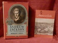 ANDREW JACKSON The Border Captain by Marquis James HC w/ DJ American in Books