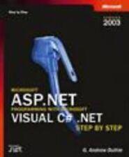 Microsoft ASP.NET Programming with Microsoft Visual C#.NET