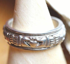 Handgefertigte Echtschmuck-Ringe im Drehring-Stil aus Sterlingsilber