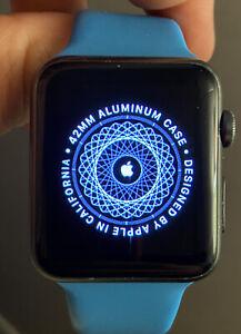42mm Space Grey Apple Watch