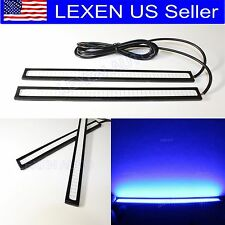 COB High Power Ultra Blue LED DRL Daytime Light Backup Interior Strip L-602B e