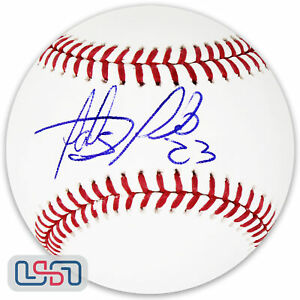 Fernando Tatis Jr. Padres Signed Autographed Major League Baseball JSA Auth #2