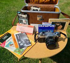 FILM TESTED Canon AE-1 SLR 35mm Camera FULL KIT + Paperwork