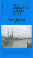 OLD ORDNANCE SURVEY MAP NORTH BELFAST 1920
