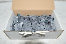 Box of 40 NEW DINNECTORS TERMINAL BLOCK END BRACKETS DN-EB35