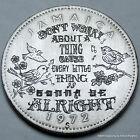 'Three Little Birds' Bob Marley Jamacian 10 Cent Hand Engraved by Shaun Hughes