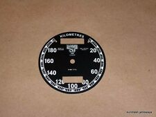 Smiths Chronometric Speedometer Face Dial Triumph BSA Norton S467/7/L 180 kilo