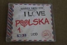 Marek Sierocki Przedstawia - I Love Polska 1 - 2 CD Polish Release
