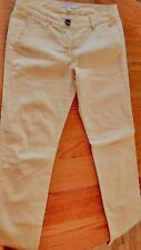 CAbi Pants Size 0 Soft Yellow Jeans, Cropped Denim Low Rise
