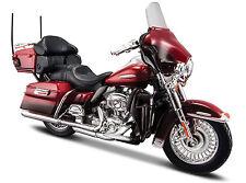 Harley Davidson Model, 2013 Electra Glide Ultra Limit (34), Maisto Motor Bike 1: