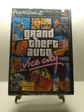 Grand Theft Auto: Vice City (Sony PlayStation 2, 2002) 1st Print Rare New