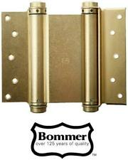 """8"""" BOMMER Double Acting Hinge 3000 Series Satin Brass Finish NEW"""