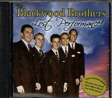 "THE BLACKWOOD BROTHERS...""LOST PERFORMANCE!""...NEW SEALED RARE HTF OOP GOSPEL CD"