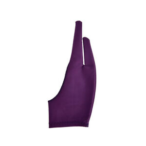 1pc Two Finger Anti-fouling Glove For Artist Drawing & Pen Graphic Tablet  JG