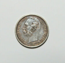 1905 Danish West Indies 10 Cents 50 Bit Old Virgin Islands Silver Coin No 2