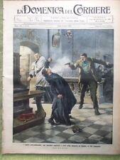 La Domenica del Corriere 30 Gennaio 1910 De Martino Agordat Egitto Villari Parma