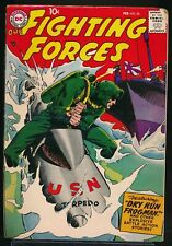 OUR FIGHTING FORCES No. 30 1958 DC War Comic Book JOE KUBERT Frogman Cover VG/FN