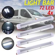 4X 72 LED Interior Light Strip Bar Car Van Bus Caravan ON/OFF Switch 12V  sc 1 st  eBay & Car Interior Lighting for sale   eBay