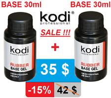 BEST OFFER! BASE + BASE 30ml. Kodi Professional Rubber Gel nail LED/UV ORIGINAL!