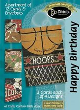 Birthday Cards, Sports with Bible Verse