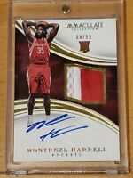 2015 Immaculate Montrezl Harrell RC Auto /99 SSP True RPA Autograph Rookie