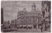 Wolverhampton; Lichfield St PPC, Unposted Tuck Silverette, Princess St Junction