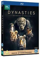 Dynasties [2x Blu-ray] *NEU* Sir David Attenborough Earth Tiger, Löwe, Pinguin