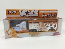 1999 Tennessee Vols Football Limited Edition Semi Truck Trailer White Rose NIB