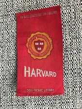 Vintage Harvard College Egyptienne Luxury Cigarettes Silk Tobacco Felt C 1910