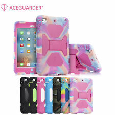 Heavy Duty Kids Shockproof Case Cover With Adjustable Stand For iPad Mini 1 2 3