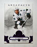 2017-18 17-18 UD Artifacts Purple #66 Joe Pavelski /20