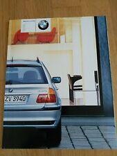 BMW serie 3 touring Depliant sales brochure 2001 E46 /3