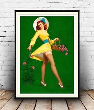 Art Frahm pin up art (12) :  Vintage magazine artwork,  Poster reproduction.