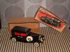 SSS VINTAGE, TIN, FRICTION DRIVEN, OLD TIMER 1929 ROLLS~ROYCE W/ORIGINAL BOX.