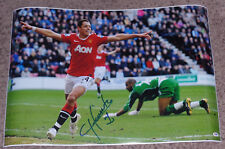 JAVIER CHICHARITO HERNANDEZ SIGNED AUTO 20X30 PHOTO PSA/DNA COA MAN U MEXICO TRI