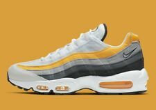 Nike Air Max 95 AM95 White Amarillo Orange Yellow Dark Grey CD7495 100 Size 14