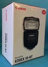New Flash Canon  Speedlite 430EX III-RT with Canon Warranty