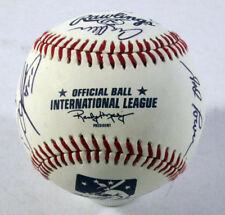 2013 Louisville Bats Team Signed Baseball 13 Signatures