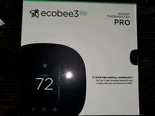 Ecobee3 Lite PRO Smart Wifi Thermostat - brand new! Black open box.