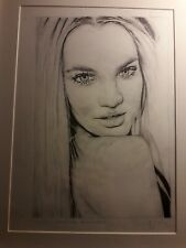 More details for original candice swanpool drawing a4