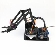4-Dof Robot Arm Mechanical Manipulator kits w/4 Servos for Arduino 51 DIY