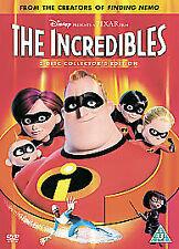 The Incredibles (DVD, 2005, 2-Disc Set, Box Set)